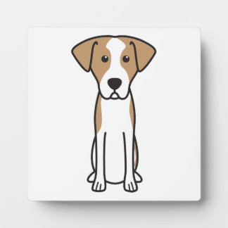 Istrian Shorthaired Hound Dog Cartoon Photo Plaques