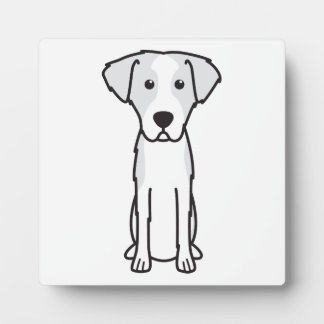 Istrian Wirehaired Hound Dog Cartoon Plaques