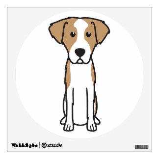 Istrian Wirehaired Hound Dog Cartoon Wall Decal