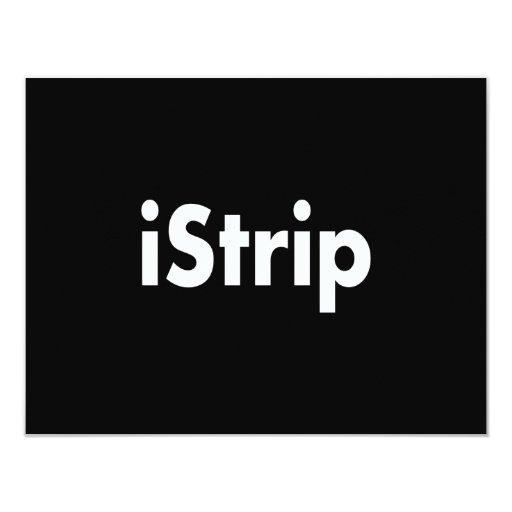 """iStrip Invitación 4.25"""" X 5.5"""""""