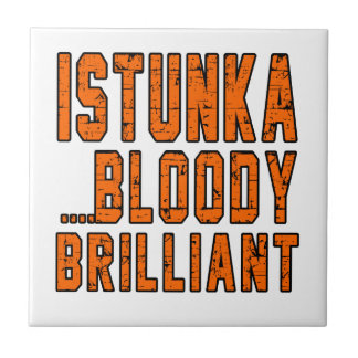 Istunka Bloody brilliant Small Square Tile