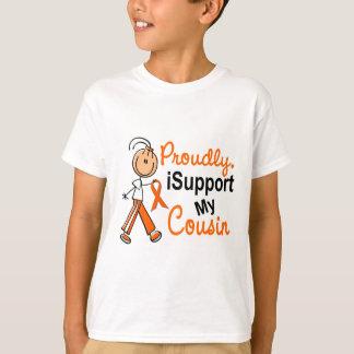 iSupport 1 SFT Leukemia MS Kidney Cancer COUSIN T-Shirt
