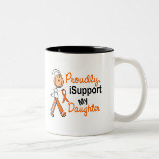 iSupport 1 SFT Leukemia MS Kidney Cancer DAUGHTER Two-Tone Coffee Mug