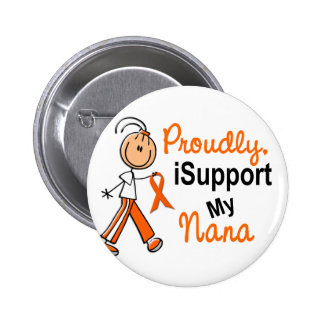 iSupport 1 SFT Leukemia MS Kidney Cancer NANA 2 Inch Round Button