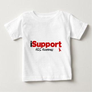 iSupport AIDS Baby T-Shirt