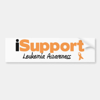 iSupport Leukemia Car Bumper Sticker