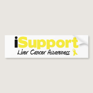 iSupport Liver Cancer Bumper Sticker