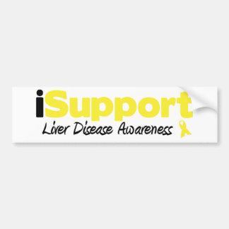 iSupport Liver Disease Car Bumper Sticker