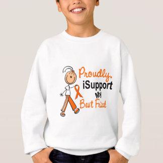 iSupport SFT Leukemia MS Kidney Cancer BEST FRIEND Sweatshirt