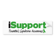 iSupport Tourette Bumper Sticker