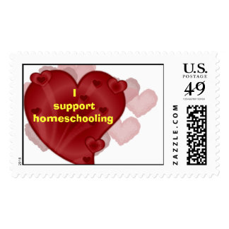 Isupporthomeschooling Postage Stamps
