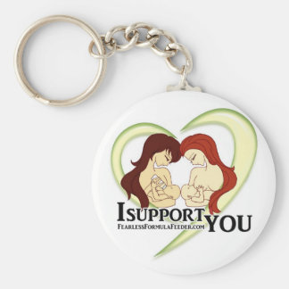 #ISupportYou Movement Swag Basic Round Button Keychain