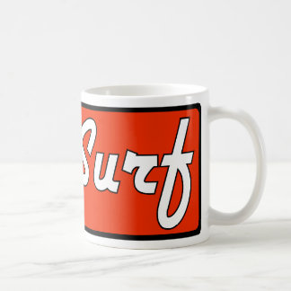 iSurf Red Coffee Mug