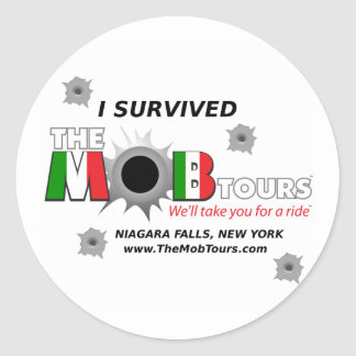 Isurvived the Mob Tours stickers