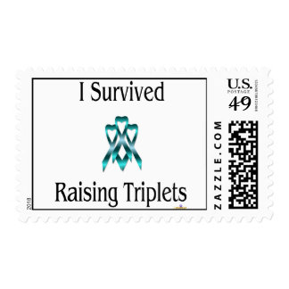 ISurvivedRaisingTripletsBoyBoyBoy Stamp