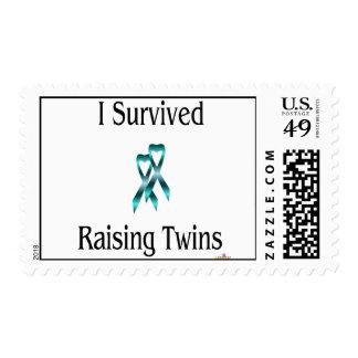 ISurvivedRaisingTwinsBoyBoy Postage Stamp