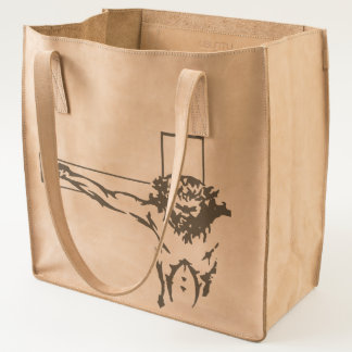Isus crucified on the cross tote