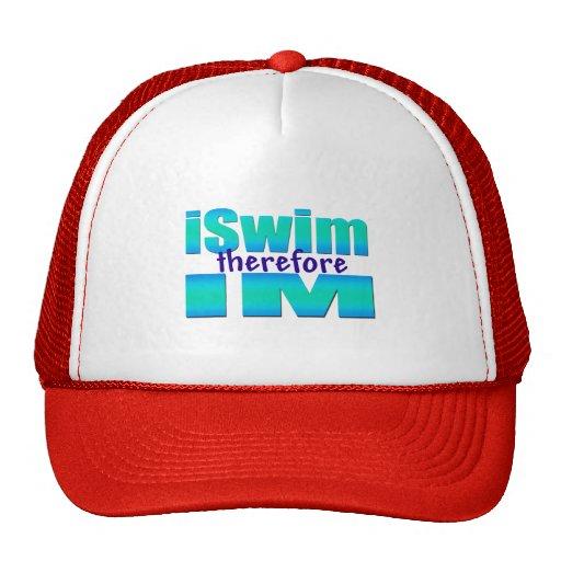 iSwim por lo tanto IM Gorro