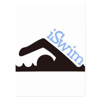 iSwim Postcard