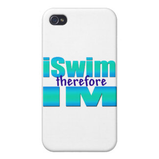 iSwim therefore IM iPhone 4/4S Case
