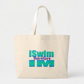 iSwim therefore IM Jumbo Tote Bag