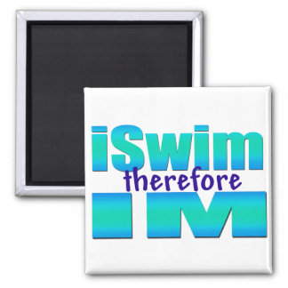 iSwim therefore IM Square Magnet