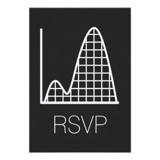 It Adds Up in Black RSVP Card