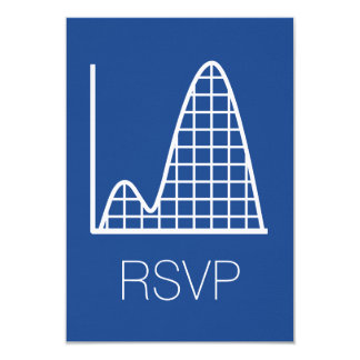 It Adds Up in Blue RSVP Card