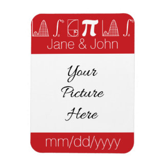 It Adds Up in Cherry Save-the-Date Magnet