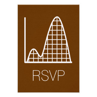 It Adds Up in Chocolate RSVP Card