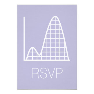 It Adds Up in Lavender RSVP Card