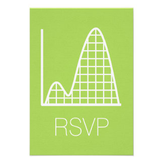 It Adds Up in Peridot RSVP Card
