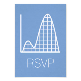 It Adds Up in Periwinkle RSVP Card