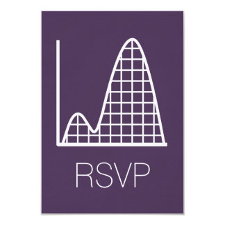 It Adds Up in Purple RSVP Card