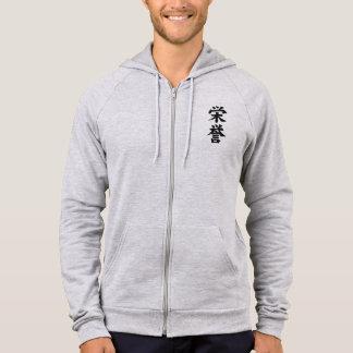 It agasalho with Wool - Honour of Samurai Hoodie