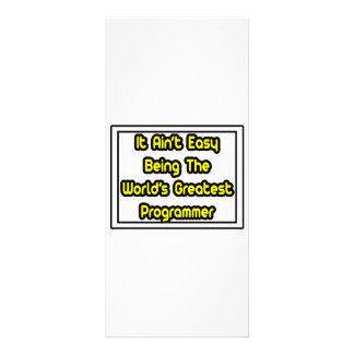 It Aint' Easy...World's Greatest Programmer Rack Cards