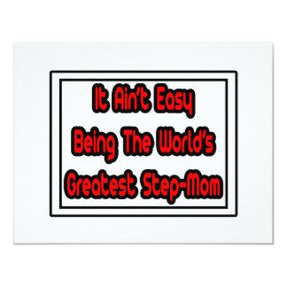 It Aint' Easy...World's Greatest Step-Mom Card