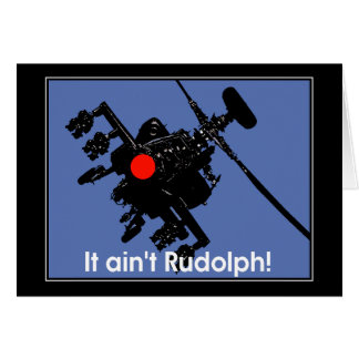 it aint rudolph card