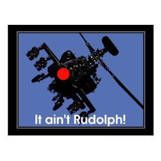 it aint rudolph postcards