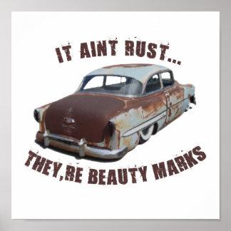 It aint rust... print
