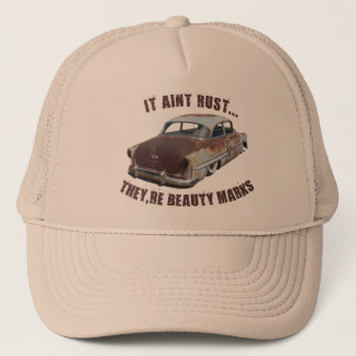 It aint rust... trucker hat