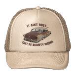 It aint rust... trucker hats