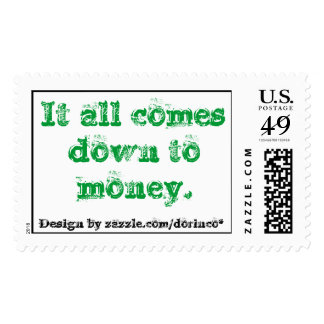 It all comes down to money. postage