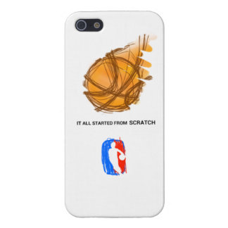 it all started from scratch iPhone 5/5S cases