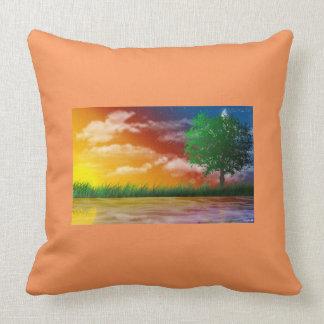 it almofada of landscape pillow