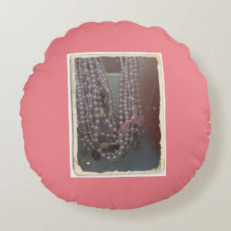 it almofada pearls round pillow