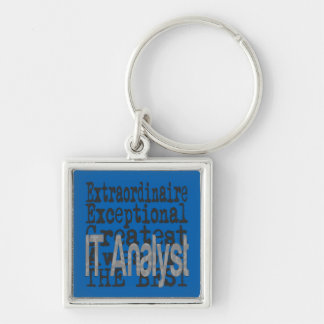 IT Analyst Extraordinaire Keychain
