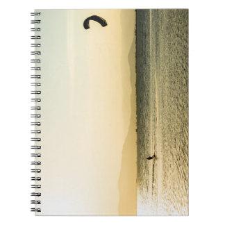 It annoys kitesurfing notebook