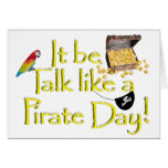 It Be Talk like a Pirate Day! Cards