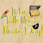 It Be Talk Like A Pirate Day! Photo Cut Outs